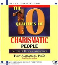 NEW! The 10 Qualities Of Charismatic People by Tony Alessandra [Audiobook]