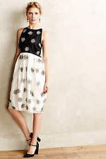 Sold Out Anthropologie Snowfall Dress By Rachel Antonoff $398 Silk size 2