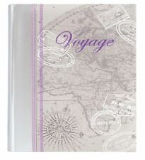 "Voyage Silver Memo 6"" x 4"" High Quality Photo Album Holds 300 Photos-Classic"
