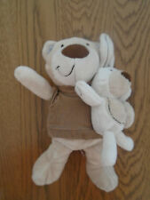 Next teddy bear soft toy with its own toy rabbit.
