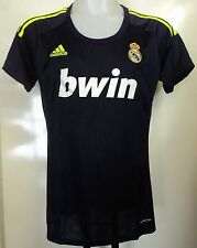 REAL MADRID 2012/13 LADIES AWAY SHIRT BY ADIDAS LADIES SIZE XL BRAND NEW