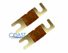 XScorpion BMANL60G—60 AMP Mini ANL Fuse 2 PCS (Gold)