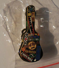 Hard Rock Cafe Pin Guitar Case Series Cozumel 2005 LE300