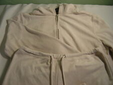 Women's NEW YORK & CO. NY Jeans Two Piece Hooded Velour Feel Jogging Set