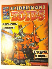 SPIDER-MAN And ZOIDS Marvel Magazine (UK) #51 (2-21-87) Near Mint Condition