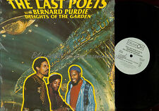 LP-- The Last Poets With Bernard Purdie ‎– Delights Of The Garden // USA 1987