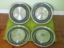 "71 72 Cadillac HUB CAPS 15"" Set of 4 Caddy Wheel Covers 1971 1972 Hubcaps"