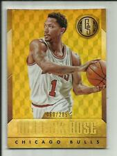 DERRICK ROSE 2014-15 PANINI GOLD STANDARD BASE #108 /285