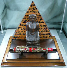 Montegrappa Red Sea Luxor Fountain Pen Writing Limited Edition Egypt ink Rare *