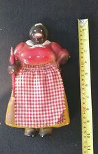 Vintage Aunt Gemima Chalkware Wall Hanging Kitchen Note Pad