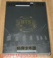 BANGTAN BOYS 방탄소년단 BTS MEMORIES OF 2014 3 DISC DVD + PHOTOBOOK + FOLDED POSTER