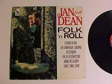 OLD ROCK POP FOLK MUSIC RECORD ALBUM~JAN & DEAN~ VINTAGE VINYL DISC LP MONO 1965