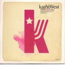 (P361) KanYeWest, Heard 'Em Say - DJ CD