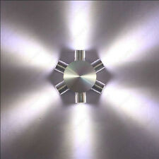 6W LED Wall Sconce Light Star Lamp Fixture Kit Disco KTV Vestibule Hallway Hotel