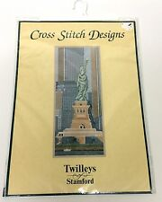 Twilleys Of Stamford Cross Stitch Designs Kit NEW YORK 2081 Statue Of Liberty