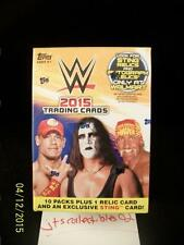 2015 Topps WWE Blaster Box WalMart Exclusive Sting Relic Autograph Auto SP