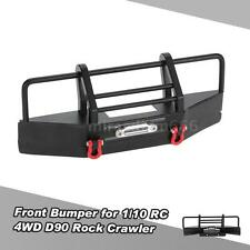 Front Bumper with Trailer Buckle for 1/10 RC4WD D90 Axial RC Rock Crawler X7Z4