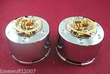 D.O.A Wheels Chrome Custom Wheel Center Caps Set of 2 # 1000-20B / F108-10