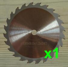 120mm Circular Saw Blade 9.5mm Bore Wood Cutting Blade for WORX WORXSAW XL WX249