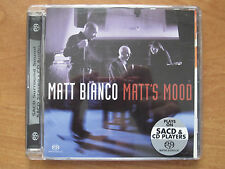 MATT BIANCO - MATT'S MOOD  -  SACD  5.1 surround hybrid