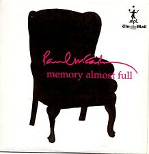 PAUL McCARTNEY - MEMORY ALMOST FULL - MAIL ON SUNDAY PROMO CD