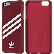 adidas Vintage Back Cover iPhone 6 Plus, 6s Plus Hard Case Schutz Hülle rot weiß