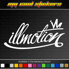 illmotion Vinyl Sticker Decal, 4X4 JDM Ute Car Truck illest fatlace