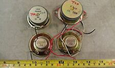 """9X47 SPEAKERS, 2"""" NOMINAL, 4-8 OHM, 10 OZ NET, 2 ARE MATCHING, TEST OK, VGC"""