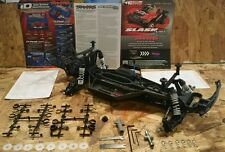 NEW TRAXXAS SLASH 2WD VXL MODEL ROLLER LCG CHASSIS WITH EXTRAS 58076-2