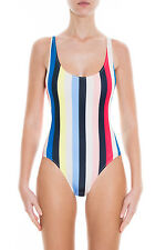 Solid & Striped The Anne Marie One Piece Swimsuit in MULTICOLOR Stripe - NWT XS