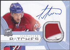 11-12 The Cup Louis Leblanc /75 Auto Patch Signature Patches Canadiens 2011