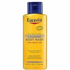 Eucerin Calming Body Wash Daily Shower Oil  8.4 fl oz