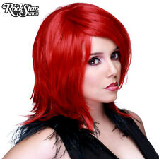 Cosplay Wigs USA™ Boy Cut Shag  - True Red