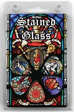 6 Stained Glass Christian Church Choir Jesus Christ Guitar pick gift set 1RSGRCS