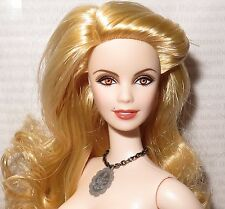 NUDE BARBIE ~MATTEL BLONDE TWILIGHT VAMPIRE ROSALIE HALE APHRODITE DOLL FOR OOAK