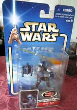 Star Wars AOTC JANGO FETT WITH INCORRECT CARD BACK / FACTORY ERROR.. FREEPOST