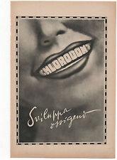 Pubblicità vintage DENTIFRICIO CHLORODONT DENTI advert werbung publicitè reklame