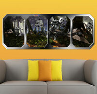 STAR WARS   the EMPIRE INVADES ENDOR  !!!    GIANT WINDOW VIEW   PRINTED POSTER