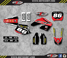 Honda CR 125 - 2000 2001 Full Graphic kit PYRO Style Stickers Graphics