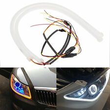 Dual Color Switchback Headlight Soft Tube LED Daytime/Turning Light Guide Strip