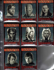 Star Wars Chrome Perspectives Jedi vs Sith Wanted cards MUST PICK ONE