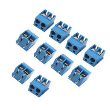 20PCS 5.08mm Pitch Panel PCB Mount 2-Pin 2 way Screw Terminal Block Connector