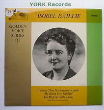 ISOBEL BAILLE - Golden Voice Series - Ex LP Record His Masters Voice HQM 1015