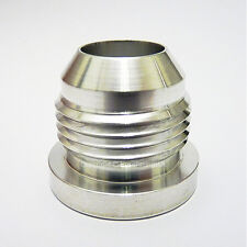 AN-6 AN6 ALUMINIUM WELD ON BUNG Hose Fitting Adapter Fuel Oil Cooler Tank Cell