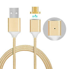 1M 2.4A Micro USB Magnetic Charging Cable Adapter Charger For Samsung Android