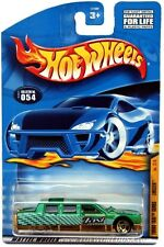 2001 Hot Wheels Turbo Taxi #54 Limozeen Thailand base