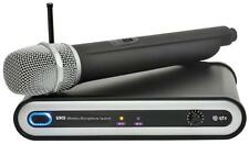 QTX 171.803 UHF Wireless Microphone System With Desktop Receiver Upto 50m Range