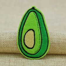 Advocado Food Iron on Sew on Embroidered Patch Badge Motif for Clothing Kids