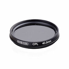 RISE (UK) 40.5mm CPL Circular Polarizer Polarizing Glass Filter for DSLR NEW