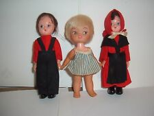 Vintage Collectible Dolls(girls,toys,rubber,plastic
